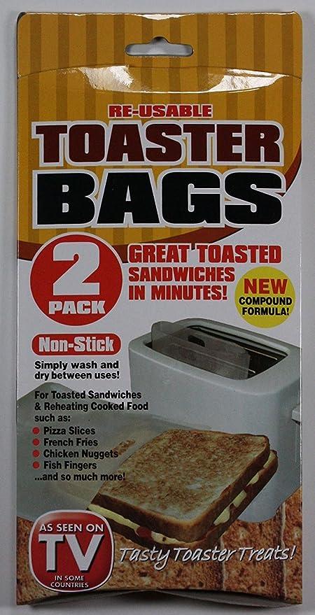 Bolsas para tostadora (reutilizables, 2 unidades): Amazon.es