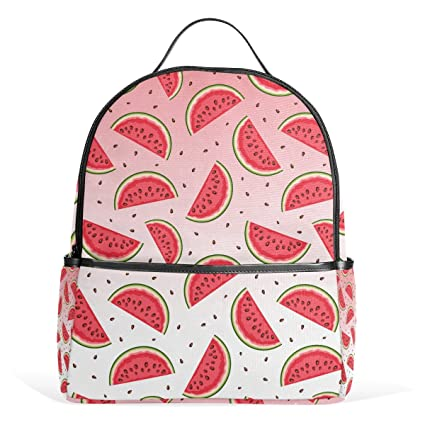 8c5b9ff18727 Amazon.com: Sunlome Cute Fruit Watermelon Pattern Laptop Backpack ...