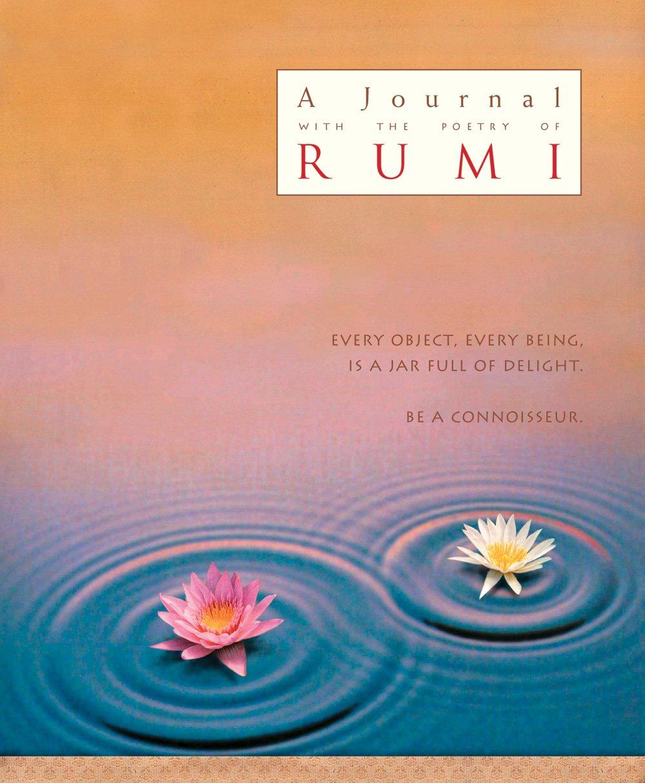 The Poetry Of Rumi Illustrated Journal J1 Rum Rumi Coleman Barks