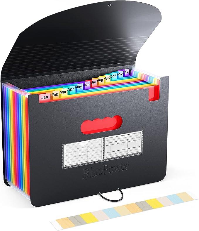 Office Supplies A6 File Organizer File Folder Supplies Portable ...