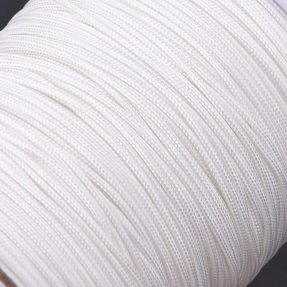 Color Blanco Cord/ón Trenzado de Nailon para persianas de Aluminio Uteruik 10 m