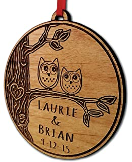 Amazon.com: Our First Home Christmas Ornament Personalized First ...