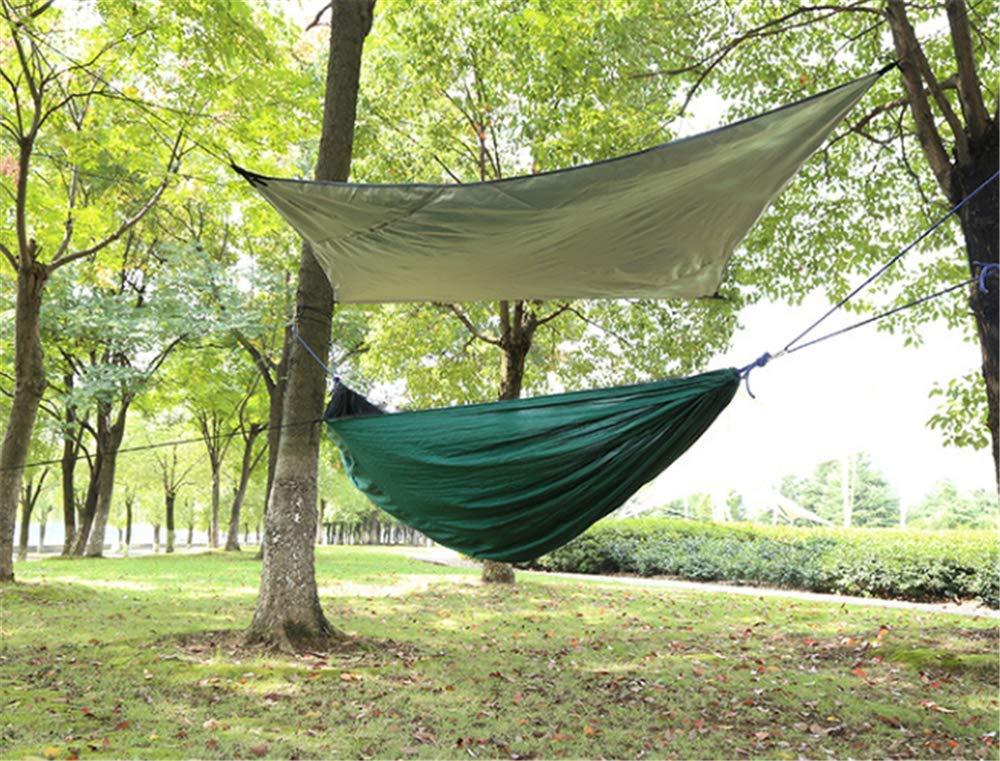 Ludage Outdoor-Camping-Gürtel Moskitonetz Oxford Stoff Markise Anti-Flip Nylon Hängematte Größe: 270  140 cm