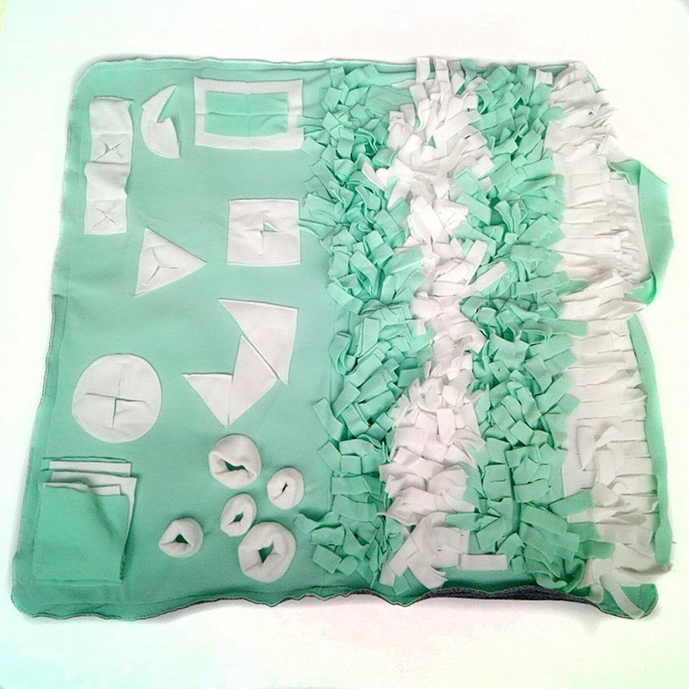 C 65100cm C 65100cm Dixinla Pet Bed Dog Sniff Mat Pet Training Blanket Washable pet mat