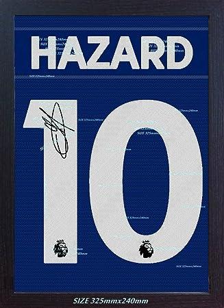 SGH SERVICES New Eden Hazard - Camiseta con autógrafo de ...