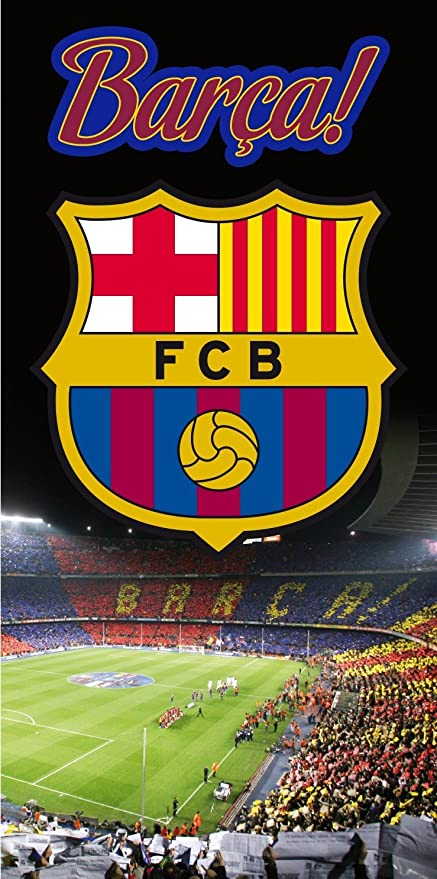Toalla FC BARCELONA Estadio Camp Nou 100X170cm