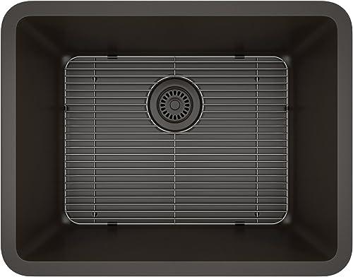 Lexicon Platinum Quartz Composite Kitchen Sink – Medium Single Bowl LP-2318 Mocha