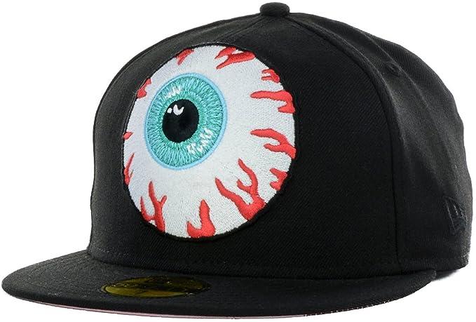 05b7455c094 Mishka Keep Watch Eyeball New Era 59Fifty Fitted Cap Hat (7 7 8 ...