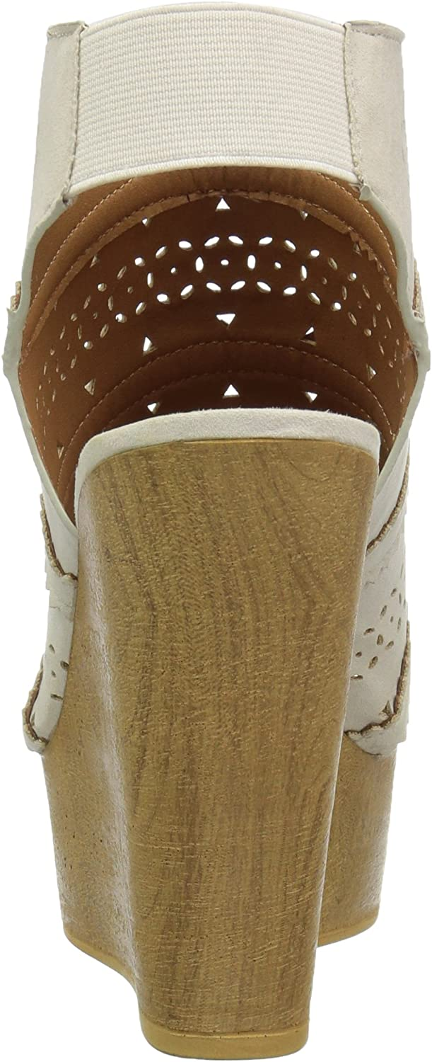 Qupid Womens Wedge Sandal