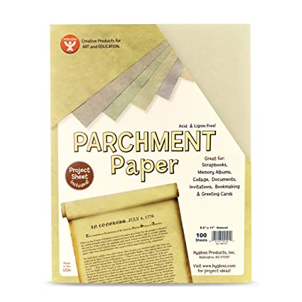 Amazon Com Hygloss Products Craft Parchment Paper Sheets Printer