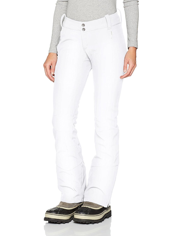Columbia 1761411, Pantaloni da Sci Donna, (Bianco), W42/R Columbia Sportswear WK0112