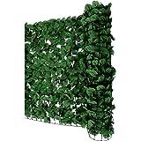 sichtschutz aus pvc efeuhecke 1 5m x 3m papillontm. Black Bedroom Furniture Sets. Home Design Ideas