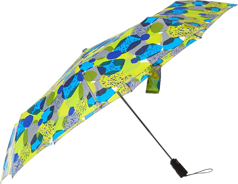 Apple Green//Strawberry Trim One Size totes Trx Auto Open and Close Titan XL Umbrella