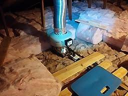 tjernlund m 4 metal inline duct fan 200 cfm. Black Bedroom Furniture Sets. Home Design Ideas