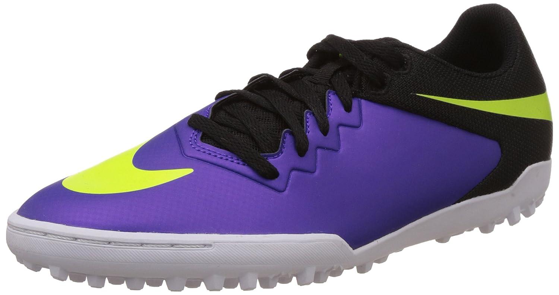 bb59bbc91057 Nike Mens HypervenomX Pro TF Turf Soccer Shoes 8 US, Hyper Grape/Volt/