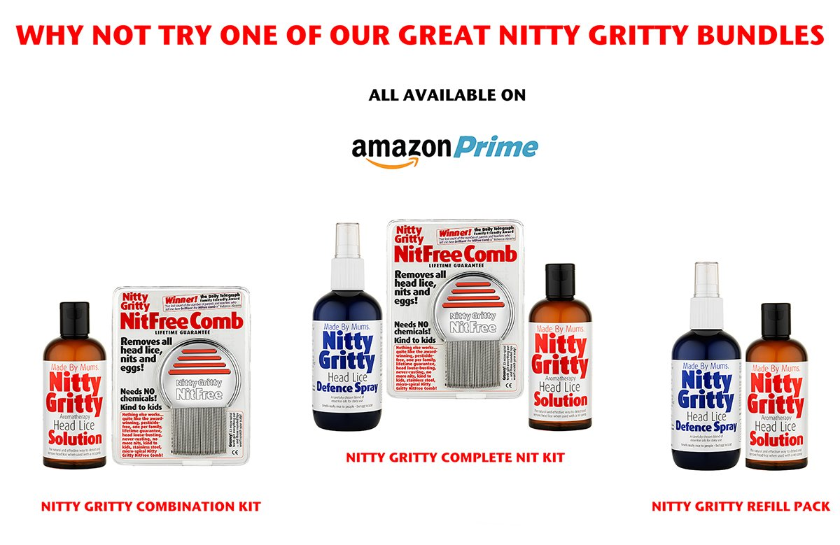 Nitty Gritty Headlice Defence Spray 250ml Oakwood Remedies 5060010680000