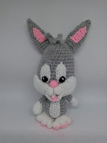 Amigurumi Crochet Blue Bunny Free Pattern - Amigurumi Free ... | 500x375