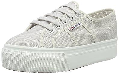 Superga Damen 2790 Lamew Sneaker, Grau (Grey), 39 EU