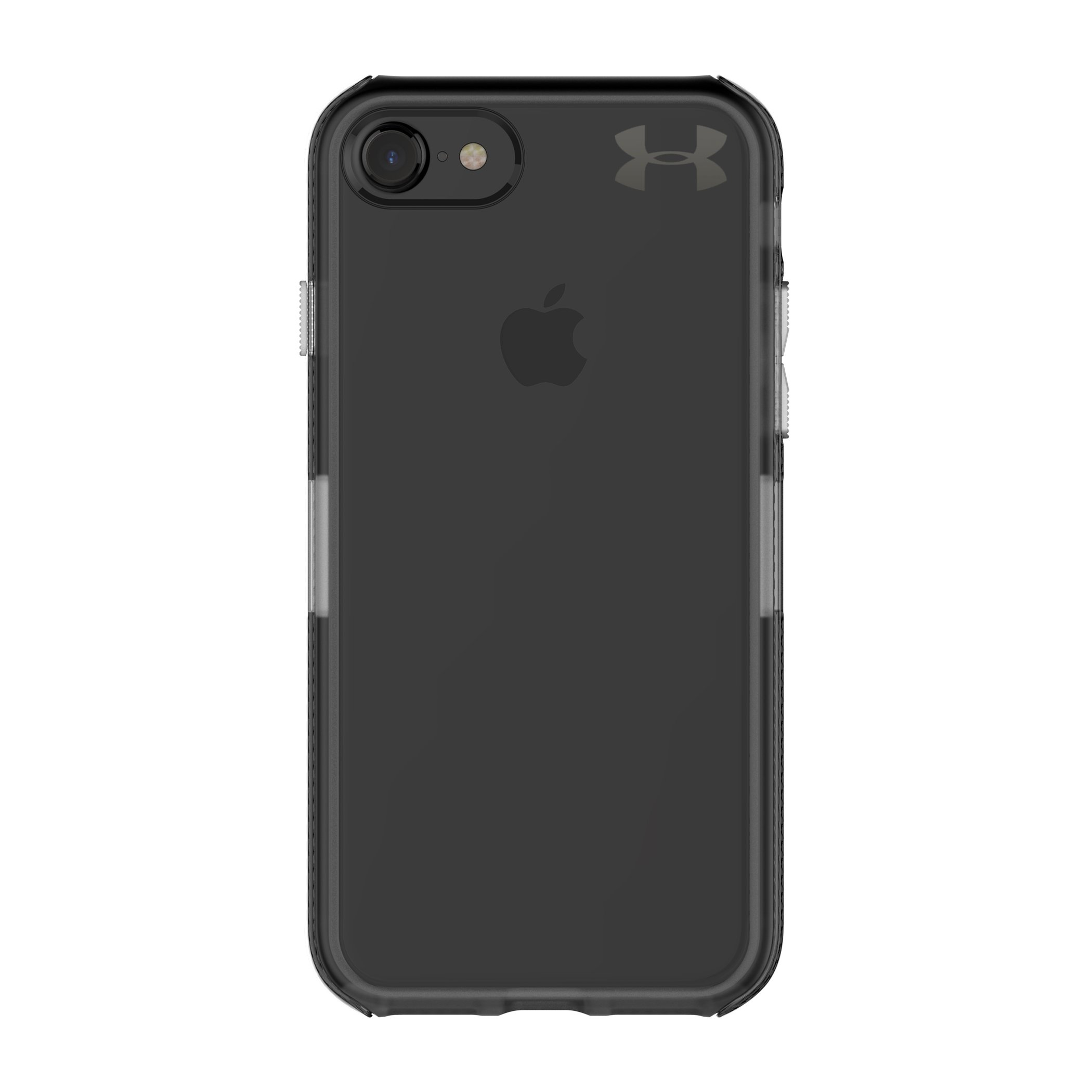 Under Armour UA Protect Verge Case for iPhone 8 & iPhone 7 - Translucent Smoke/Black/Black Metallic Logo