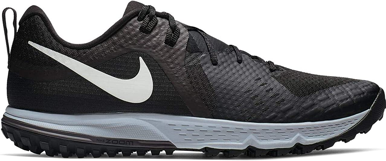 Nike Air Zoom Wildhorse 5, Zapatillas de Running para Asfalto para Hombre, Multicolor (Black/Barely Grey/Thunder Grey/Wolf Grey 001), 44 EU: Amazon.es: Zapatos y complementos