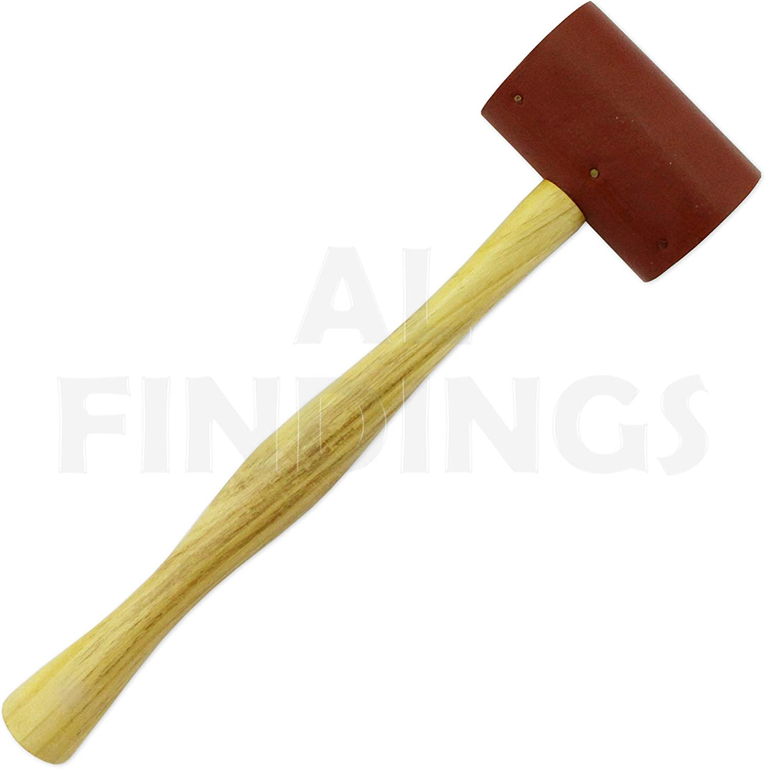 "2/"" JEWELLERS RAW HIDE LEATHER MALLET HAMMER 50 MM HEAD METAL WORKING TOOL"