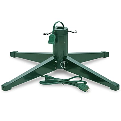 Artificial Christmas Tree Stand.Heavy Duty Rotating Revolving Tree Stand Seasonal Winter Christmas Tree Stands For Artificial Trees Metal