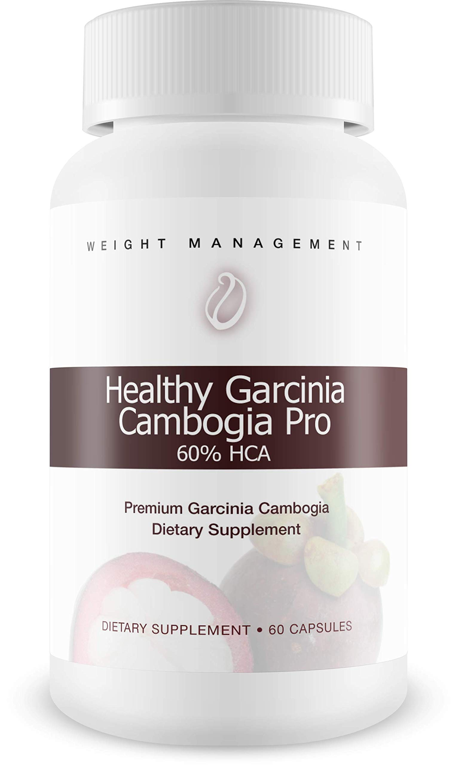Healthy Garcinia Cambogia Pro- 60% HCA- Max Strength - Natural Weight Loss Supplements - Carb Blocker & Appetite Suppressant - All Natural Diet Pills for Women & Men - 60 Caps by Healthy Garcinia Cambogia Pro (Image #1)
