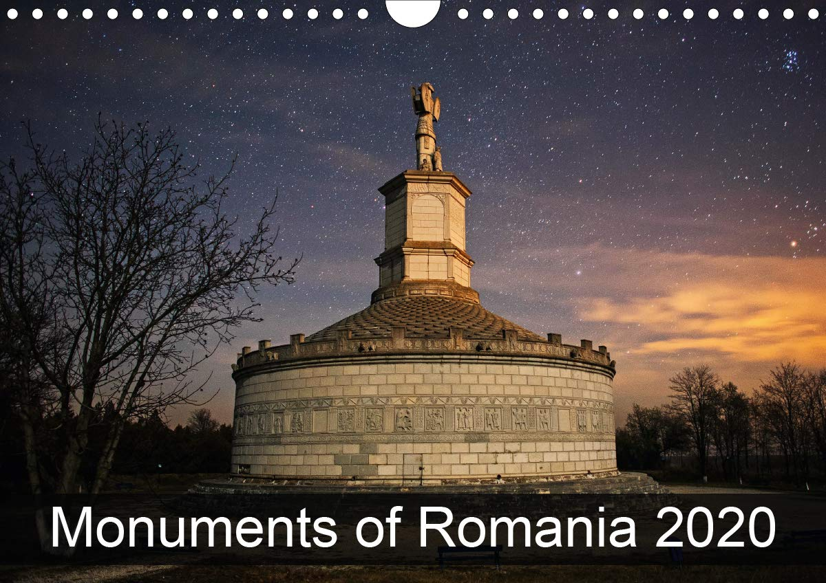Monuments Of Romania 2020  Wall Calendar 2020 DIN A4 Landscape