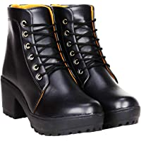 ROSHER Fashionable Women's Synthetic Ankle Length Boots