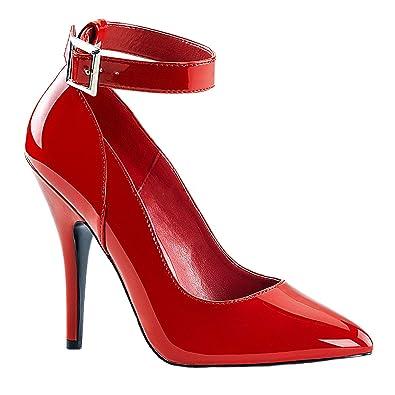 Higher-Heels PleaserUSA Pumps Vanity-440 Lack Schwarz Gr. 39 M1X7Rp
