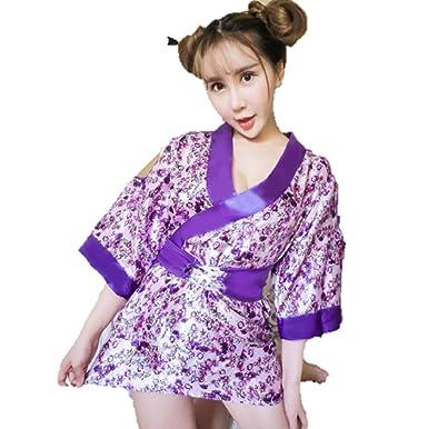 Has left Hot kimono girl and black