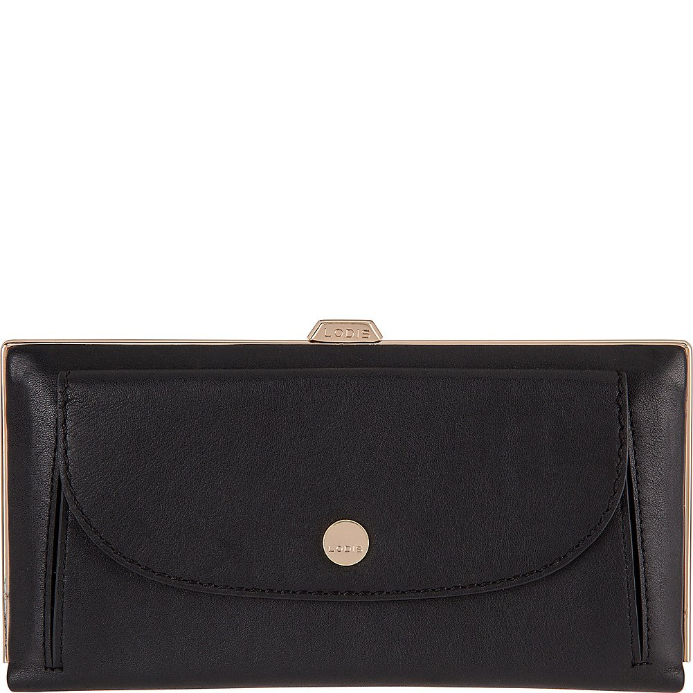 Lodis Downtown RFID Keira Clutch Wallet (Black) by Lodis