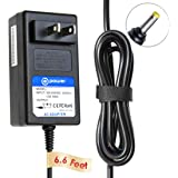 T-Powe 12V (6.6ft Long Cable) for Dymo LabelManager 260P, 280, 360D, 420P 1768815 LabelManager 1815990 LM-280 LM280 280 1754490 desktop Label Print Replacement switching power supply cord charger