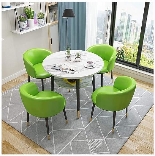 Diseño Moderno Mesa De Comedor y Sillas, Sala De Recepcion Pequeña ...
