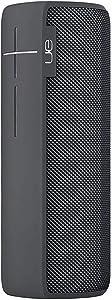 Logitech Ultimate Ears MEGABOOM Water Resistant Bluetooth Speaker, Galaxy (Renewed)