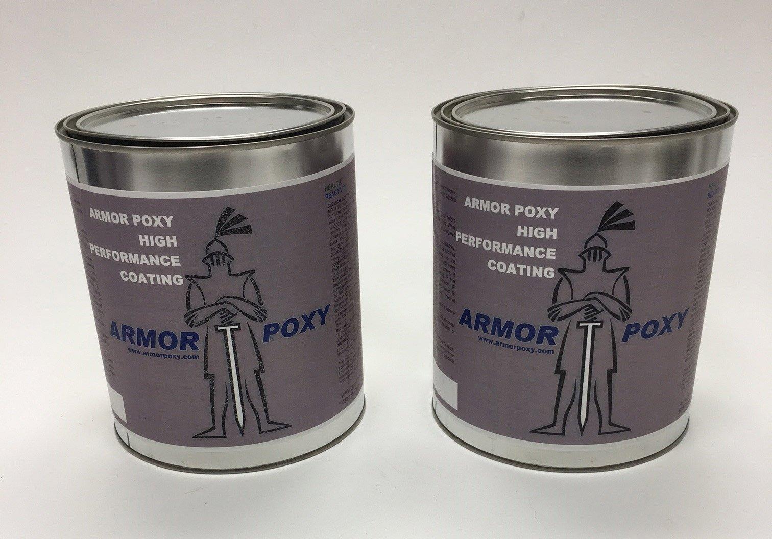 Armorultra 1.5 Gal Epoxy Kit 100% Solids, Off White