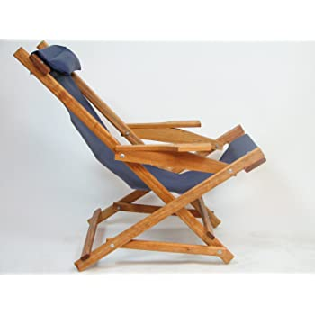 Amazon Com Wooden Folding Rocking Chair With All Weather