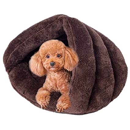 Amazoncom Vemee Sleep Zone Cuddle Cave Pet Bed Cozy Pet Cave Bed