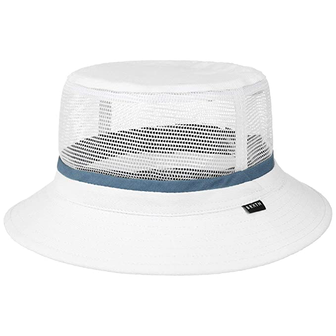 a1855ee96 Brixton Hardy Bucket Hat - White/Blue: Amazon.ca: Clothing & Accessories