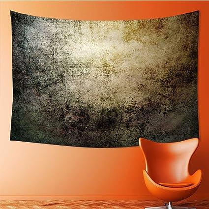 Amapark Art Decorative Grunge Wallpaper Wall Hanging Bedspread Multi Purpose Tapestries 60w X 51l Inch