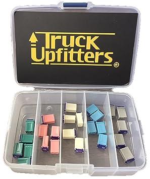 Truck Upfitters 25 Pc Automotive Mcase Mini Box Shaped Cartridge