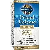 Garden of Life Whole Food Probiotic Supplement - Primal Defense ULTRA Ultimate Probiotic Formula Dietary Supplement, 60 Vegetarian Capsules