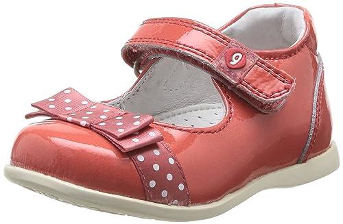 8addf7165 Garvalin Maho - Zapatos Primeros Pasos de Otras Pieles para niña Rojo Rouge  (Sandia Charol) 20  Amazon.es  Zapatos y complementos
