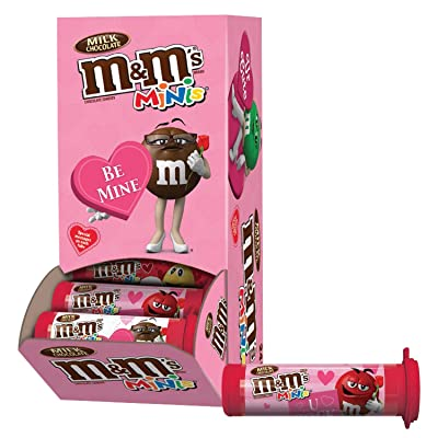 M&M's Valentine's Day Tubes