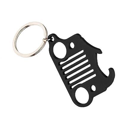 Amazon.com: EVAPLUS - Llavero de coche para Jeep Wrangler ...
