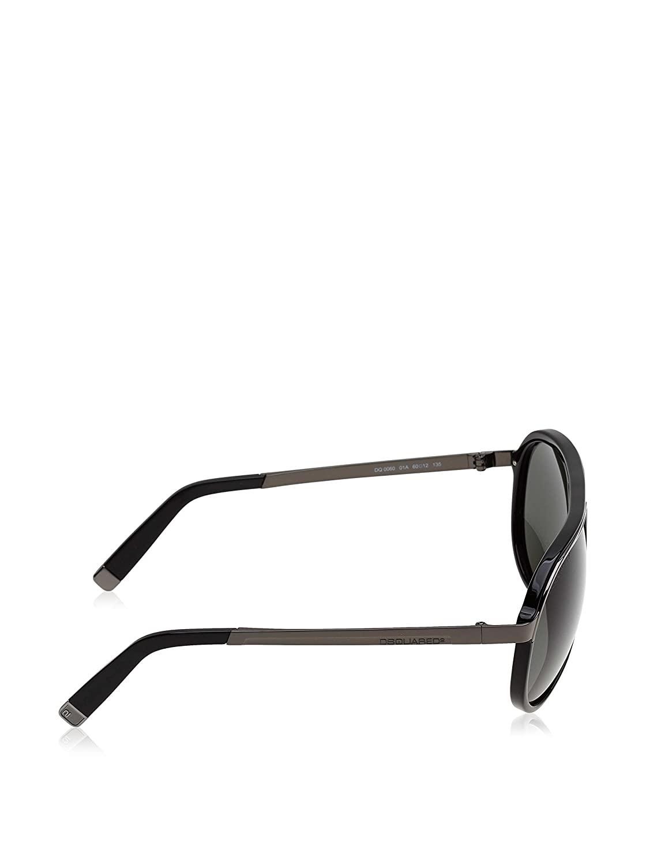 Amazon.com: Dsquared anteojos de sol DQ 0060 Negro 01 A dq60 ...