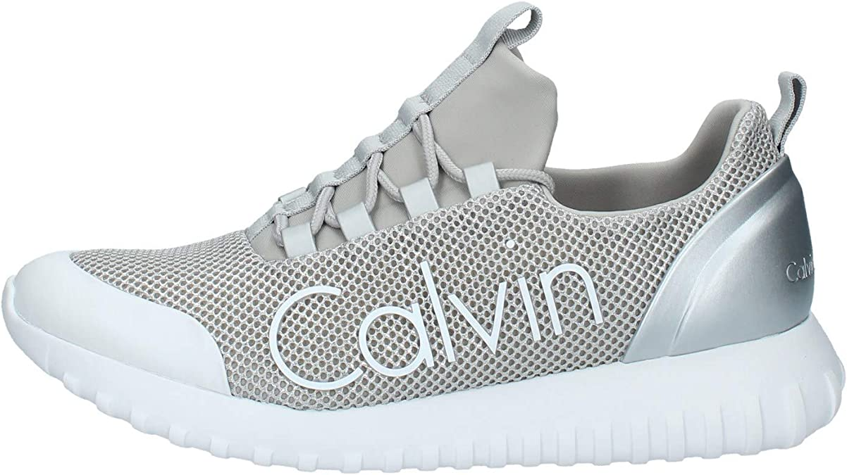 Calvin Klein Ron Mesh/Brushed Metal, Zapatillas para Hombre: Amazon.es: Zapatos y complementos