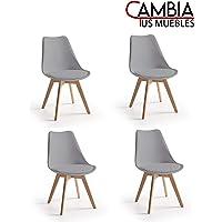 CAMBIA TUS MUEBLES - 4 sillas Comedor salón