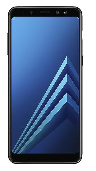 Samsung Galaxy A8 2018 Sim Free Smartphone Black Amazon Co Uk