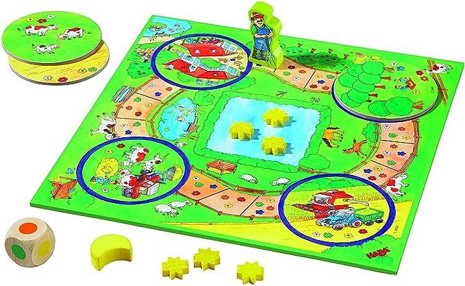 HABA Mon Premier trésor de Jeux 004686 - Juego Infantil (Idioma español no garantizado): Amazon.es: Juguetes y juegos
